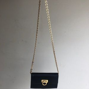 Ferragamo Black cross body bag
